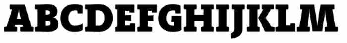 Adagio Slab Heavy Font UPPERCASE
