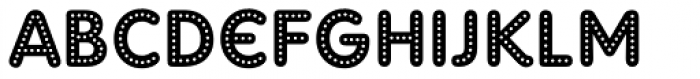 Adam Gorry Lights Font LOWERCASE