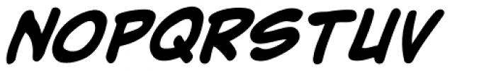 Adam Kubert Bold Italic Font UPPERCASE