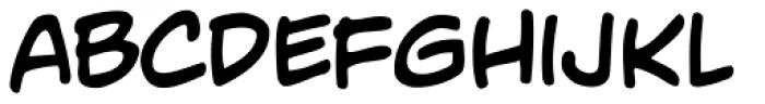 Adam Kubert Font LOWERCASE