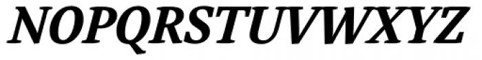 Adam Serif Bold Italic Font UPPERCASE