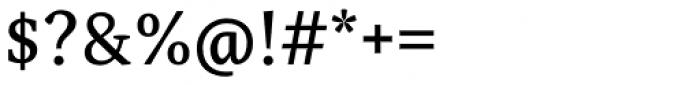 Adam Serif Regular Font OTHER CHARS