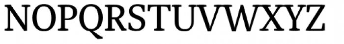 Adam Serif Regular Font UPPERCASE