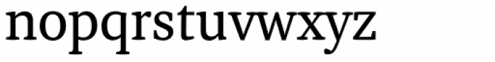 Adam Serif Regular Font LOWERCASE