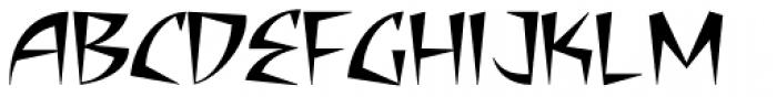 Adamantium Fang Font UPPERCASE