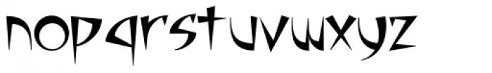 Adamantium Fang Font LOWERCASE