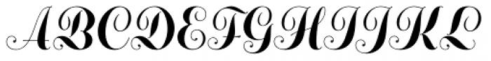 Adana AS Initials A Font LOWERCASE