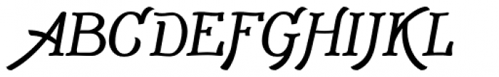 Adantine Bold Font UPPERCASE
