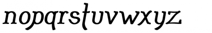 Adantine Bold Font LOWERCASE
