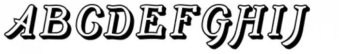 Adantine Embossed Font LOWERCASE