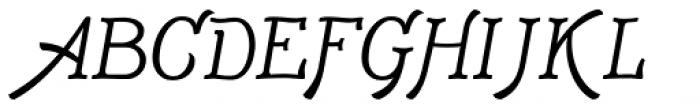 Adantine Small Capitals Font UPPERCASE