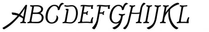 Adantine Font UPPERCASE