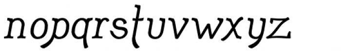 Adantine Font LOWERCASE