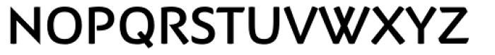 Adderville Medium Font UPPERCASE