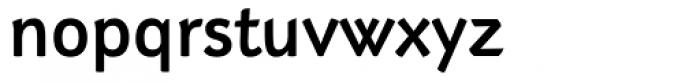 Adderville Medium Font LOWERCASE