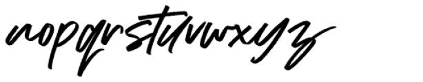 Addictive  Font LOWERCASE