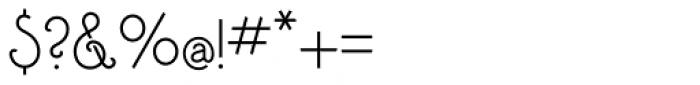 Addie Regular Font OTHER CHARS