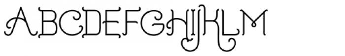 Addie Regular Font UPPERCASE