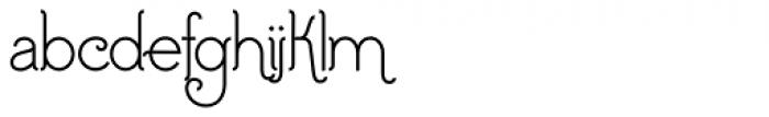 Addie Regular Font LOWERCASE