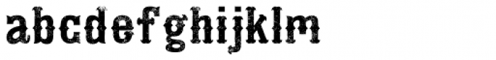 Addison Circus Flat Font LOWERCASE