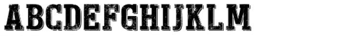 Addison West Drop Font UPPERCASE