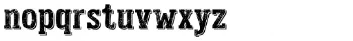 Addison West Drop Font LOWERCASE