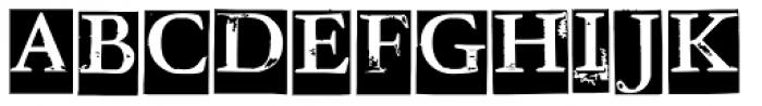 Addlethorpe Web Font UPPERCASE