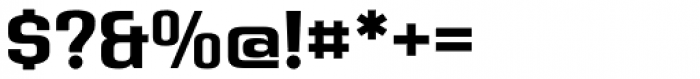 Address Sans Pro Bold Font OTHER CHARS