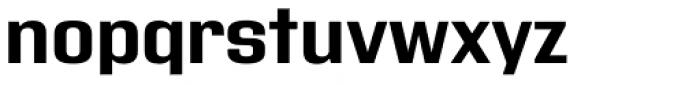 Address Sans Pro Bold Font LOWERCASE