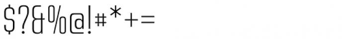 Address Sans Pro Cd Extra Light Font OTHER CHARS