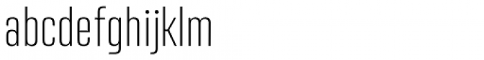 Address Sans Pro Cd Extra Light Font LOWERCASE