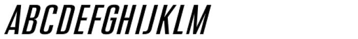 Address Sans Pro Cd Regular Italic Font UPPERCASE