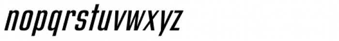 Address Sans Pro Cd Regular Italic Font LOWERCASE