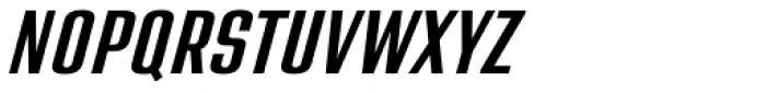 Address Sans Pro Cd Semibold Italic Font UPPERCASE