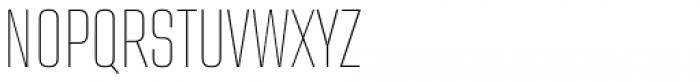 Address Sans Pro Cd Thin Font UPPERCASE