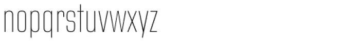Address Sans Pro Cd Thin Font LOWERCASE