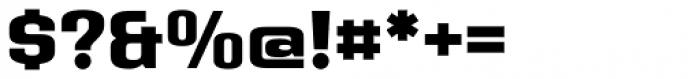 Address Sans Pro Extra Bold Font OTHER CHARS
