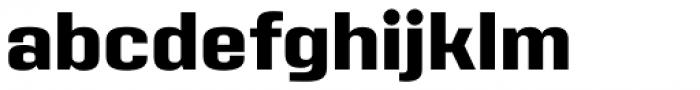 Address Sans Pro Extra Bold Font LOWERCASE
