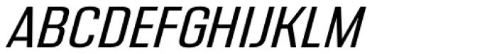 Address Sans Pro Regular Italic Font UPPERCASE