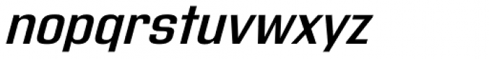 Address Sans Pro Semi Bold Italic Font LOWERCASE