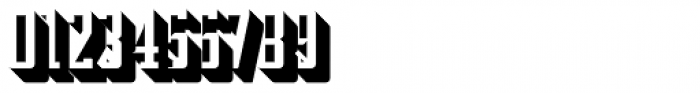 Addressotype Slab Shadow Font OTHER CHARS