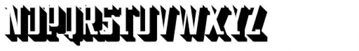 Addressotype Slab Shadow Font UPPERCASE