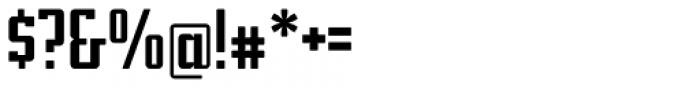 Addressotype Slab Solid Font OTHER CHARS