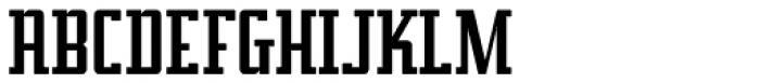 Addressotype Slab Solid Font UPPERCASE