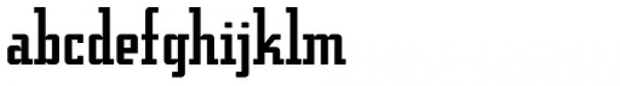 Addressotype Slab Solid Font LOWERCASE
