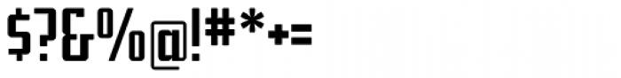 Addressotype Font OTHER CHARS