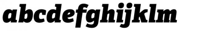 Adelle Basic Heavy Italic Font LOWERCASE