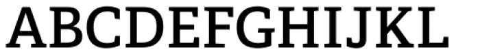 Adelle Basic SemiBold Font UPPERCASE