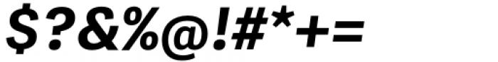 Adelle Mono Flex Bold Italic Font OTHER CHARS