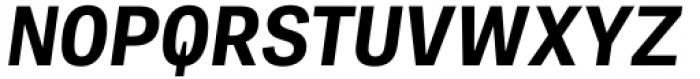 Adelle Mono Flex Bold Italic Font UPPERCASE